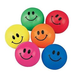 Smiley Face Bouncy Balls | 48ct for $7.29