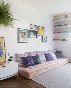 Como usar futons na decoração