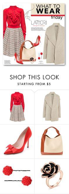"""What to Wear: Black Friday Shopping"" by svijetlana ❤ liked on Polyvore featuring moda, Lattori, James Perse, Kate Spade, Marni, Dollydagger, rosegold, polyvoreeditorial, shoptilyoudrop y lattori"
