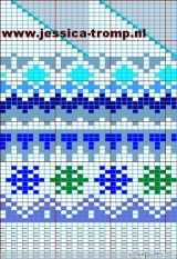 Схемы для вязания шапок с орнаментом. Вязание спицами.. Обсуждение на LiveInternet - Российский Сервис Онлайн-Дневников Knitting Charts, Knitting Stitches, Knitting Designs, Fair Isle Knitting, Mittens, Knitted Hats, Tapestry, Crafts, Texture