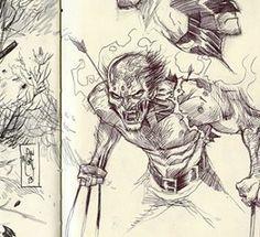 Wolverine by Dan Mora Wolverine, X Men, Comic Art, Marvel Comics, Dan, Sci Fi, Cosplay, Fan Art, Superhero