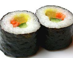 Como fazer um Sushi   Como Fazer Sushi
