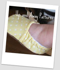 baby shoe pattern