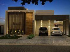 Projeto de uma Casa Contemporânea no Alphaville - Ribeirão Preto - SP - Projeto: MB Arquitetura e Interiores