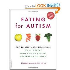 I'm a Registered Dietitian and definitely recommend this book to parents, teachers, occupational therapists etc working with children in the autism spectrum