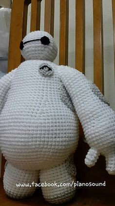 Crochet Amigurumi Baymax Pattern : *Crochet - Amigurumi on Pinterest Amigurumi, Amigurumi ...