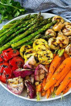 Grilled Vegetables.  #healthyfood #heart #health #fitness #delicious #healthy #healthyfood #yummy