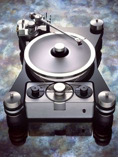 TEAC VPI HR-X turntable. #recordplayer #turntable #music #audio http://www.pinterest.com/TheHitman14/the-record-player-%2B/