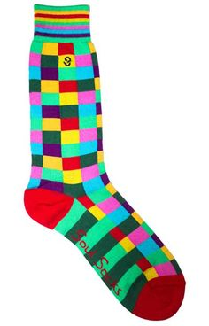 Wearing Bright Socks – Men's Colorful Sock Rules – When and How to Wear Brightly Colored Socks (via @Antonio Centeno)