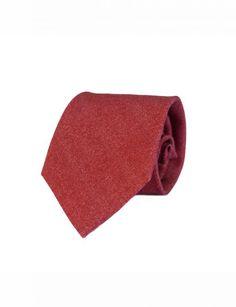 corbata de lana wine lord roja de Indian Lord