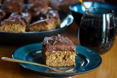 Krydderkake med kaffe- og sjokoladekrem