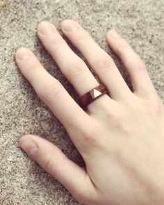cute wooden ring