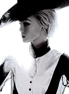 Magazine: Numéro (Issue #101) Editorial: Lonesome Girl Photographer: Camilla Akrans Model: Siri Tollerød