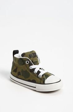 Converse All Star® 'Camo Street' Mid Top Slip-On Sneaker (Walker & Toddler)   Nordstrom
