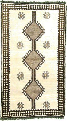 Beige 114cm x 196cm Ghashghaei Rug | Persian Rugs | iRugs South Africa