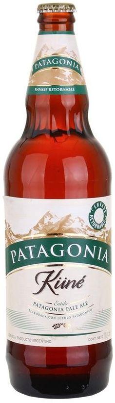 """Cerveza Pale Ale """"Küné"""" - Cervecería Patagonia, Bariloche, Río Negro - Done"""