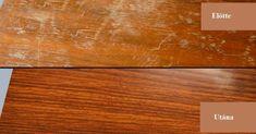 Škrábance a rýhy nejen na dřevu odstraníte snadno za pomoci domácích metod Good Housekeeping, Cross Stitch Flowers, Butcher Block Cutting Board, Cleaning Hacks, Helpful Hints, Diy And Crafts, Household, Woodworking, Good Things