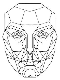 The Golden Ratio Mask - transparency. Developed by Marquardt beauty analysis