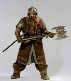 Another Tolkien costume by CelticRuins? I've wanted to make Gimli since FotR came out. He's one of my favorites in the books as well as the. Hobbit Dwarves, Hobbit Hole, The Hobbit, Lord Of Rings, Lotr Characters, Dwarf Costume, Fantasy Dwarf, Pauldron, Halloween Costume Contest