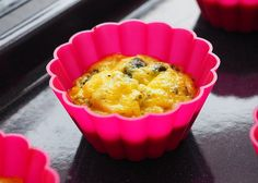 Mini omlete la cuptor in 4 feluri Ricotta, Broccoli, Muffin, Breakfast, Mini, Desserts, Food, Morning Coffee, Tailgate Desserts
