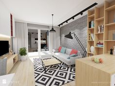 Projekt mieszkania w bloku >>>