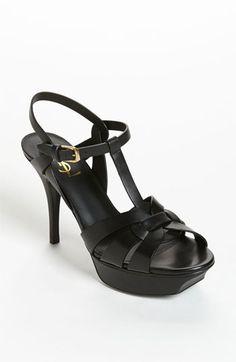 adbe412eeb00 Saint Laurent  Tribute  T-Strap Sandal available at  Nordstrom Saint  Laurent Shoes