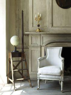 ZsaZsa Bellagio: Neutral, vintage, elegant, rustic, french- HOME.