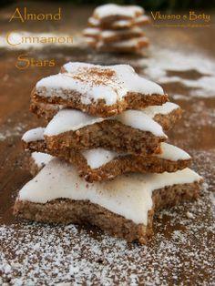 Вкусно с Бети: Бадемово- канелени звездички-без глутен. Коледен календар Ден 9-и. - Almond-Cinnamon Stars-gluten free