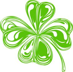 Irish Celtic Clover Art   St. Patrick's Day Clip Art