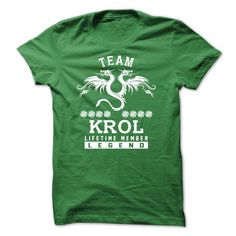 [SPECIAL] KROL Life time member - #couple shirt #sweater nails. HURRY:   => https://www.sunfrog.com/Names/[SPECIAL]-KROL-Life-time-member-Green-47607826-Guys.html?id=60505