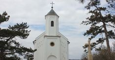 Szent Mihály kápolna Vonyarcvashegy San Francisco Ferry, Park, Building, Outdoor Decor, Travel, Construction, Trips, Buildings, Viajes