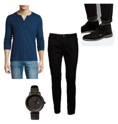 """""""Wayne Hopkins / That's the Spirit / Vallejo"""" by esmeraldavallejo ❤ liked on Polyvore featuring Rogue, Iceberg, Lambretta, Simple Watch Co., men's fashion and menswear"""