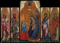 Nardo di Cione Annunciation Polyptych,1371