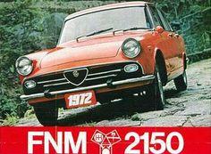 FNM 2150 by Alfa Romeo - brochure | Brasil (1972)