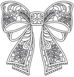 Embroidery Clothes Urban Threads Products New Ideas Hand Embroidery Designs, Embroidery Patterns, Machine Embroidery, Christmas Coloring Pages, Coloring Book Pages, Christmas Bows, Christmas Colors, Foto 3d, Photo Collage Maker
