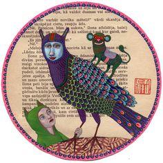 Lena Revenko: tamed monsters. got it!  my new favorite illustrator! sorry maira