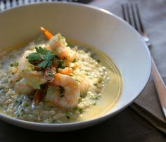Light Lemon Risotto made with ease in your Thermomix.