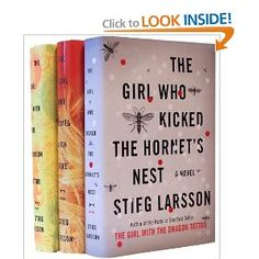 Stieg Larsson's Millennium Trilogy Bundle: The Girl with the Dragon Tattoo, The Girl Who Played with Fire, The Girl Who Kicked the Hornet's Nest