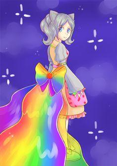 Nyan Cat Gothic Lolita Gijinka by PinkLemonadeGoddess.deviantart.com on @deviantART - COSPLAY IDEA!
