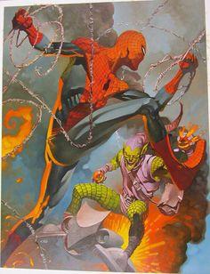 Spiderman vs Duende Verde.