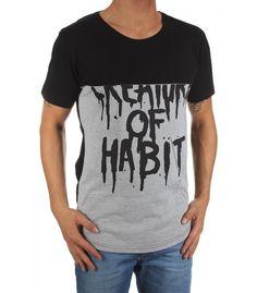 Nana judy t-shirt NJW429 CREATURE OF HABIT HALF | Dedicatedfashion.nl