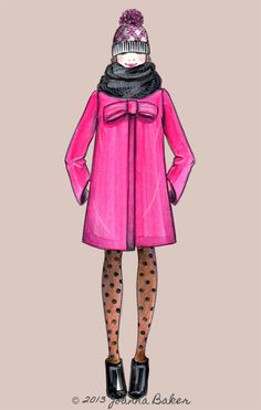 Wrapping up warm Joanna Baker : Fashion Art Design Creative | An illustrated blog of personal artwork, daily musings, and inspirations. | Page 4