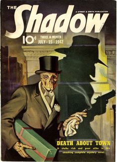 The Shadow - July 15, 1942 loved this and Doc Savage when I was a kid!