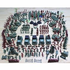 Army Men Figures Accessories Kit Set Kids 307pcs Military Plastic Soldier Model Toy Model Action Gift Toy For Children Boys. Yesterday's price: US $19.64 (16.25 EUR). Today's price: US $19.64 (16.25 EUR). Discount: 40%.