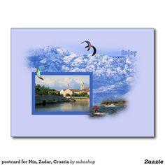 postcard for Nin, Zadar, Croatia Briefkaart