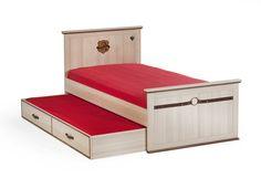 Cilek Royal Gästebett  Mit dem Cilek Royal Gästebett bietet sich Freunden jederzeit eine zusätzliche Schlafgelegenheit. Hinter dem optischen Frontdesign der zwei Schubkästen verbirgt sich ein gemütliches Zusatzbett....  #kinder #kinderzimmer #kinderbett #gaestebett #cilek