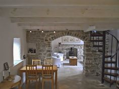 Irish Cottage Decor, Irish Decor, Country Decor, Cottage Extension, Stone Cottages, Farmhouse Renovation, Cottage Design, Cottage Style, Cottage Living