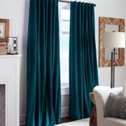 Sheridan Velvet Ink Curtain Living Room Teal Curtains Blue inside dimensions 1500 X 1500 Blue Curtains Bedroom Curtains - Each of our bedrooms should Blue Velvet Curtains, Green Curtains, Colorful Curtains, Velvet Curtains Bedroom, Teal And White Curtains, Curtains For Grey Walls, Boho Curtains, Pleated Curtains, Luxury Curtains