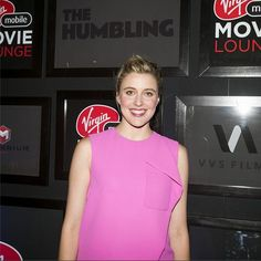 Greta Gerwig is killing it on #TheHumbling red carpet on her way in to the #VMMovieLounge after-party. #VIP #FestivalSeason