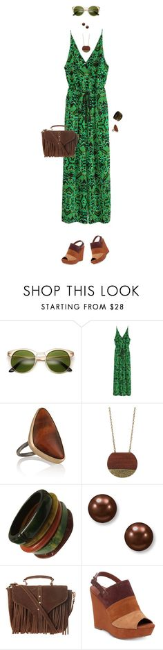 """""""Fresh"""" by simonethe on Polyvore featuring H&M, Melissa Joy Manning, Suzy Levian, Glamorous, Lucky Brand and Summer"""